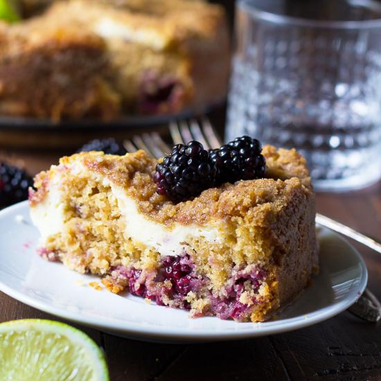 blackberry coffee cake FG