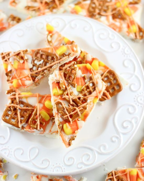 candy corn bark 14