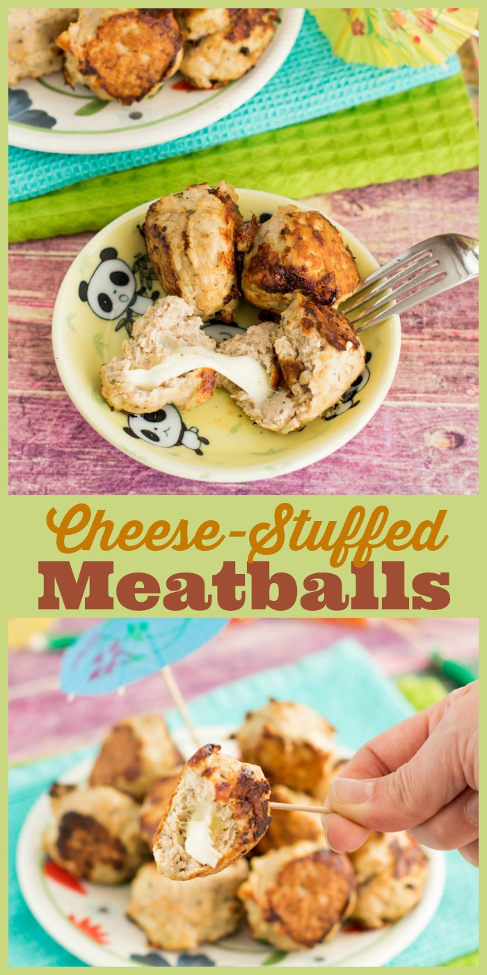 cheese-stuffed-meatballs-collage