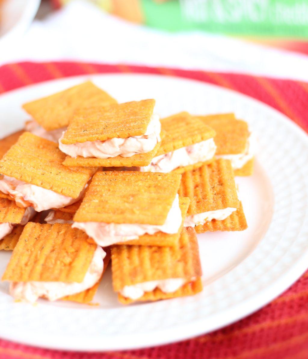 cheez-it cracker sandwiches 7