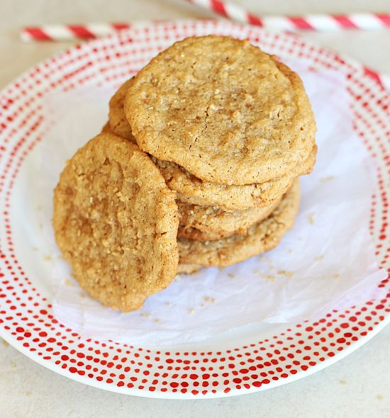 chewy cashew butter toffee cookies 8