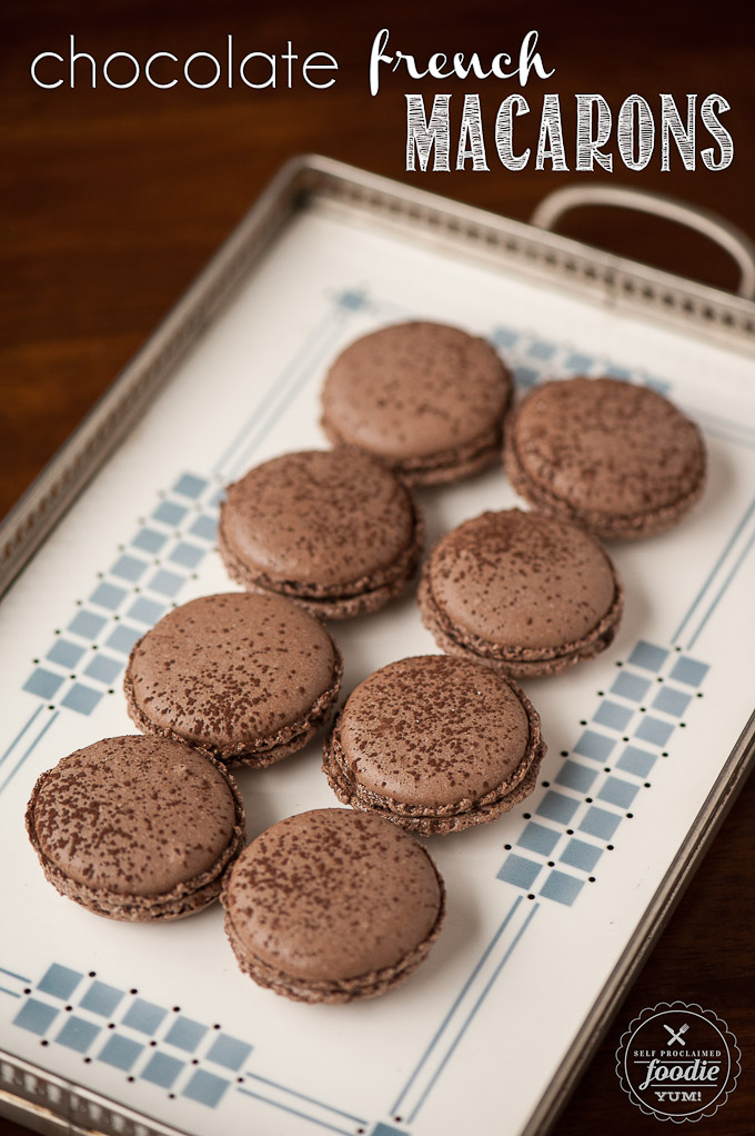 Chocolate French Macarons – Dan330
