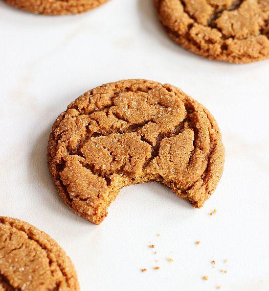 cracked top ginger cookies 13
