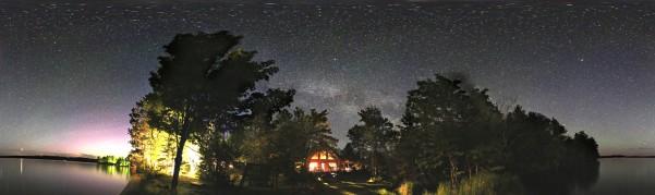 stars at elbow lake lodge