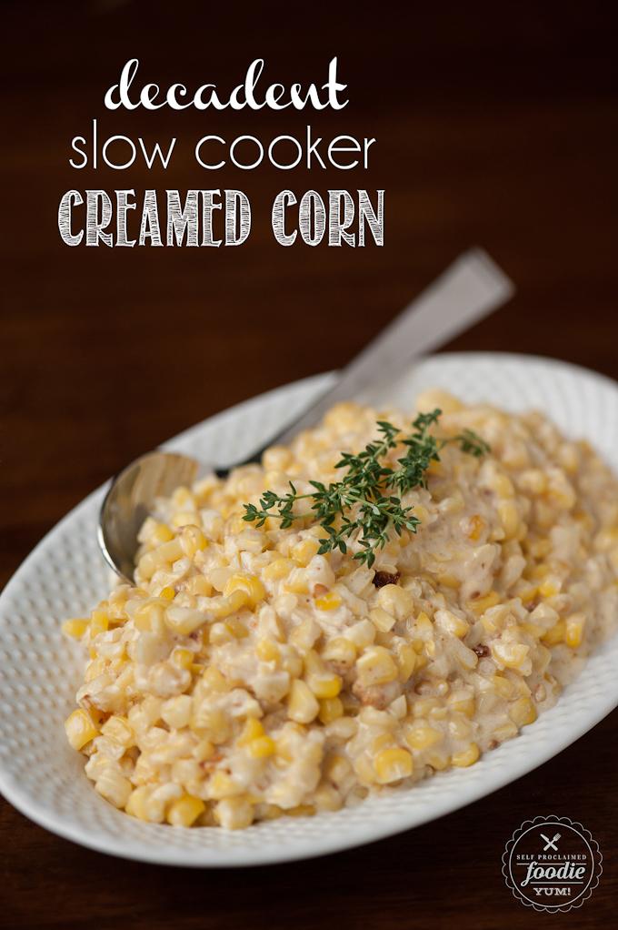 Decadent Slow Cooker Creamed Corn – Dan330