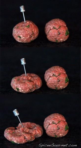 deflating meatballs