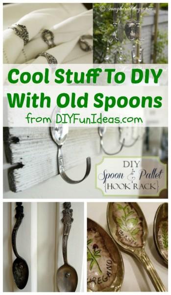 diy old spoons