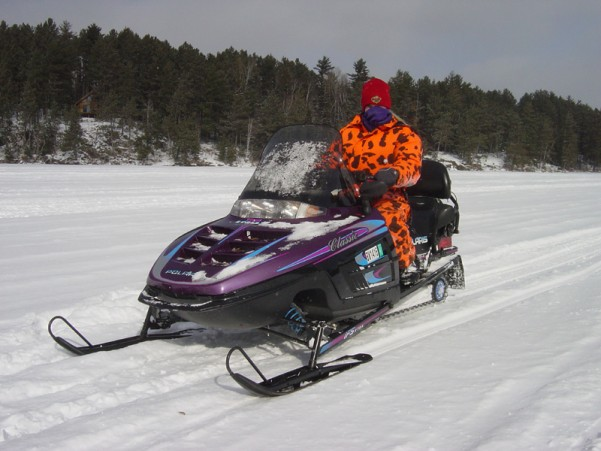Snowmobile Elbow Lake