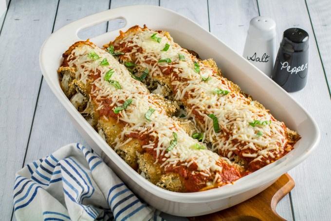 easy eggplant rollatini recipe