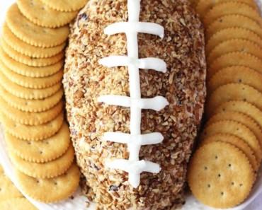 easy football cheese ball recipe small