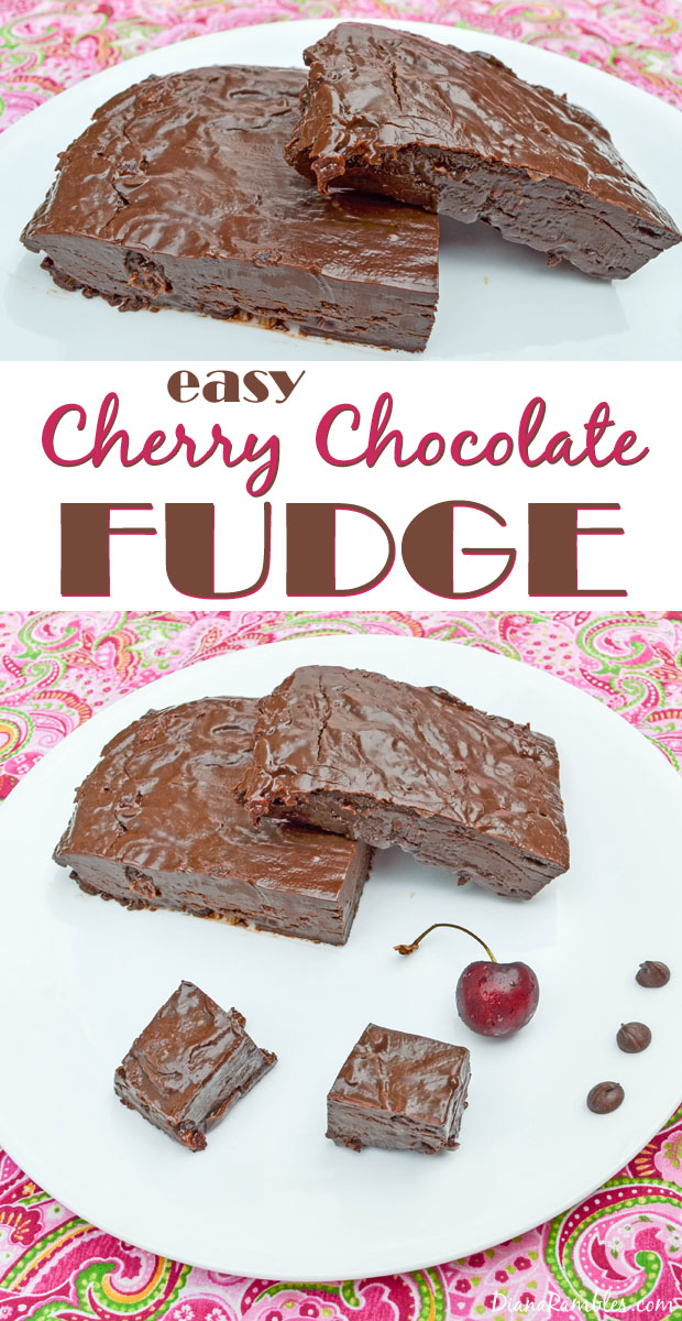 easy-microwave-cherry-chocolate-fudge
