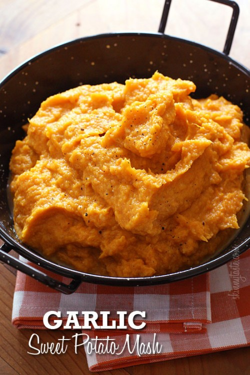 garlic-sweet-potato-mash