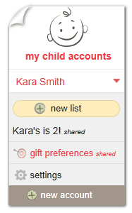 giftster-child-account