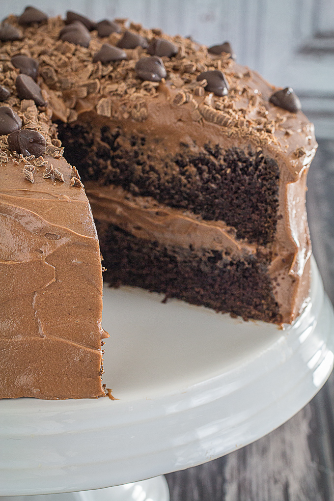 gluten free double chocolate cake 5