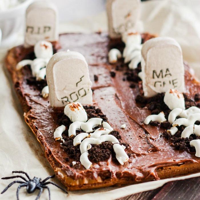 Gravestone Brownies Recipes — Dishmaps