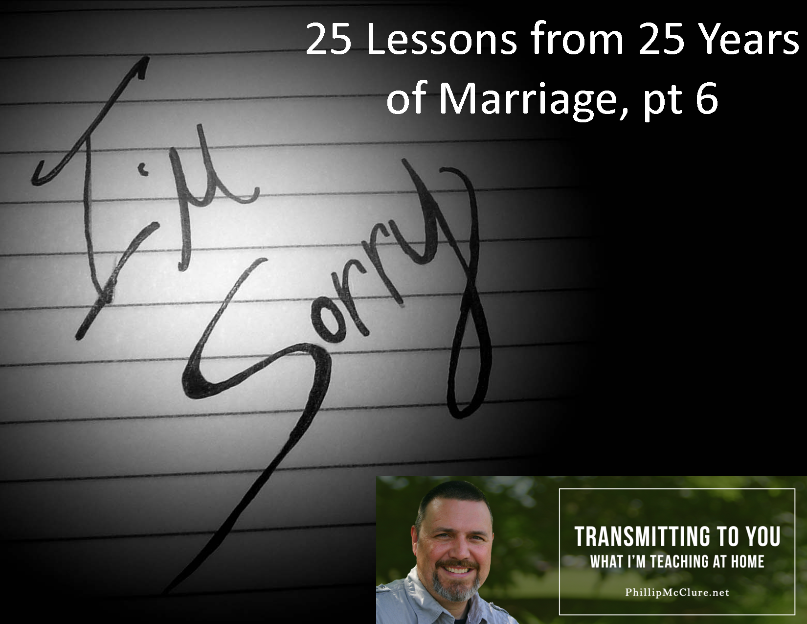 image for 25 lessons part 6 - 7.1.15