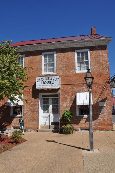 Oldest brick building in America