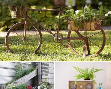 insanely creative diy planter ideas