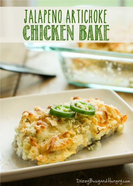 jalapeno artichoke chicken bake title 2