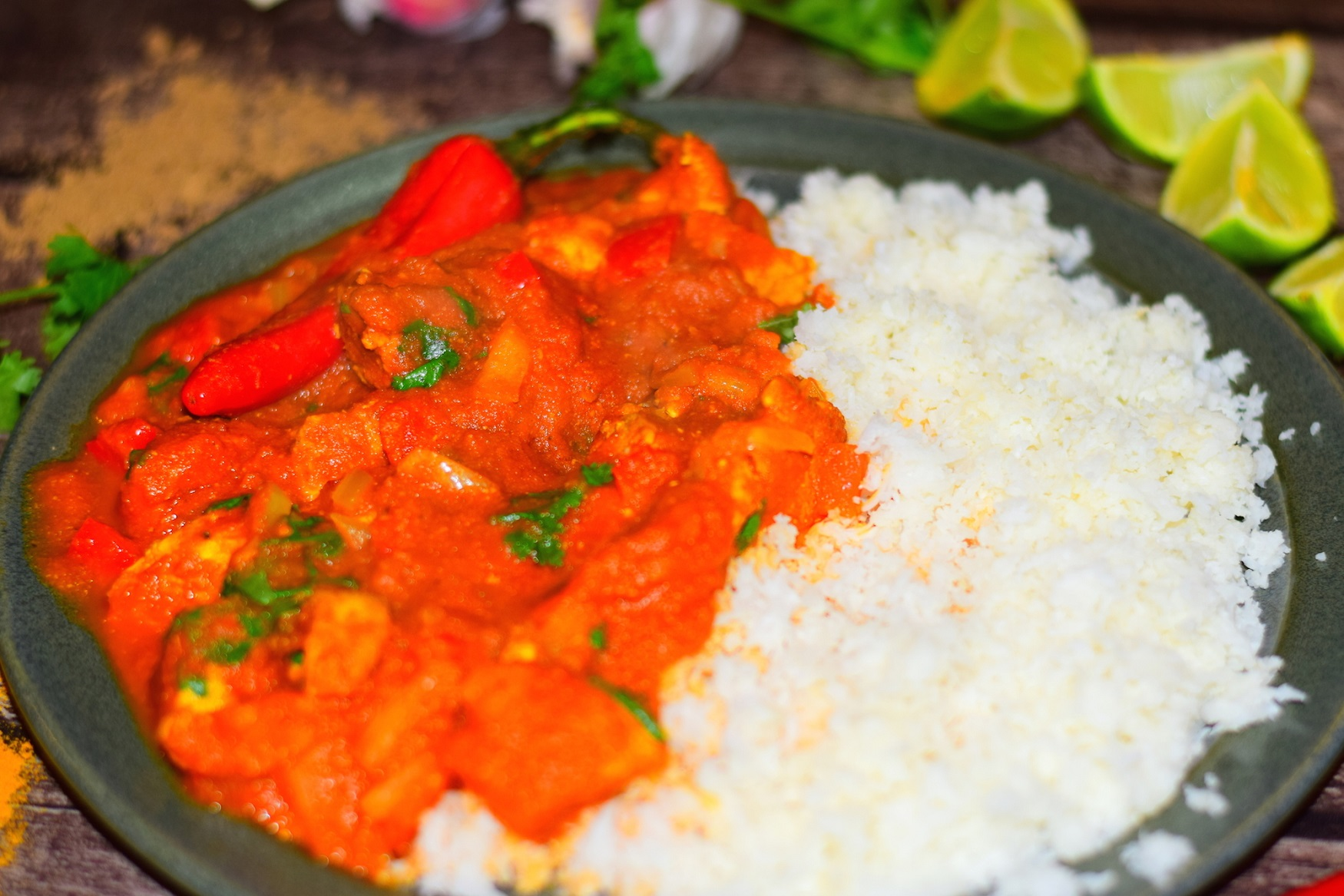 Healthy Chicken Jalfrezi