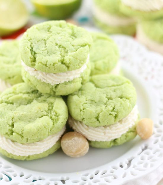 key lime whoopie pies with macadamia nut buttercream 15