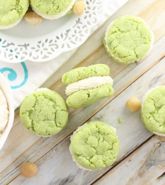 key lime whoopie pies with macadamia nut buttercream 18
