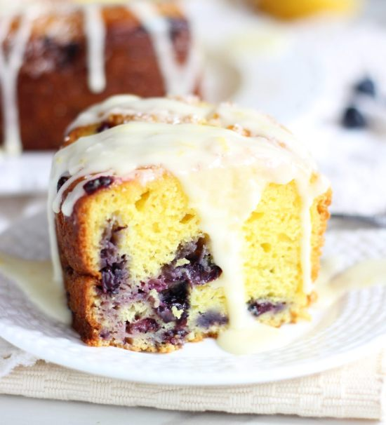 lemon blueberry bundt cake with lemon glaze 32