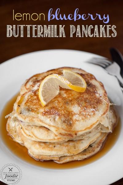 lemon-blueberry-buttermilk-pancakes