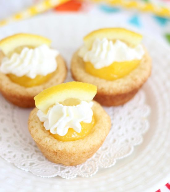 lemon cream pie cookie cups 4
