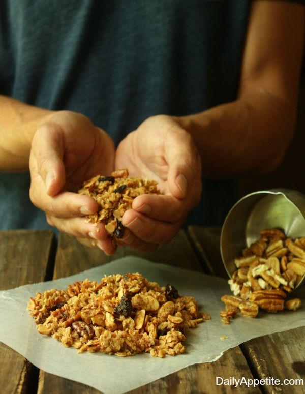 nanas granola