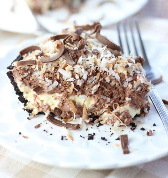 no bake chocolate coconut cream pie 22