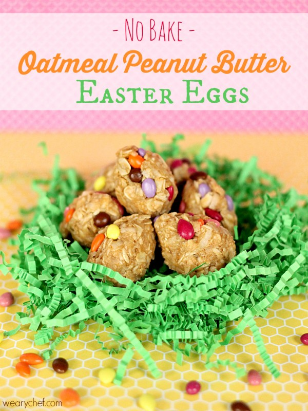 Oatmeal Peanut Butter Easter Eggs – Dan330