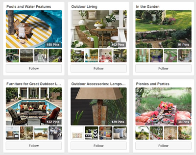 Outdoor Living Blog Outdoorlicious Styling with Pinterest