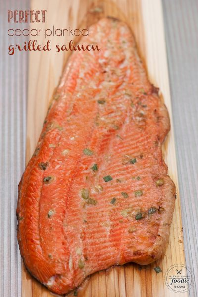 Perfect Cedar Planked Grilled Salmon Dan330