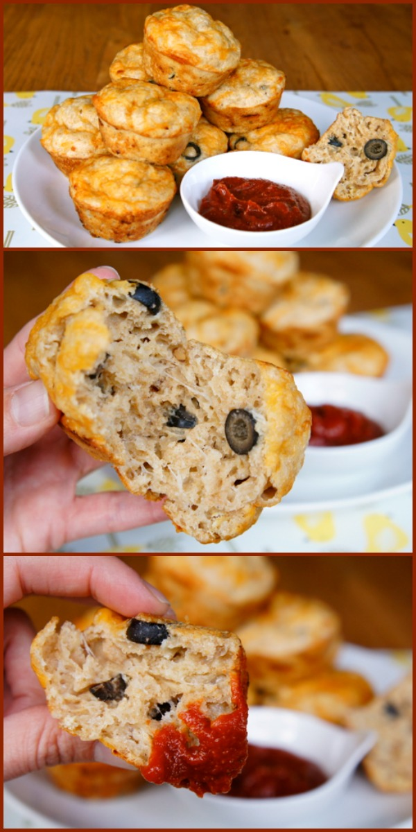 pizza-muffins-collage