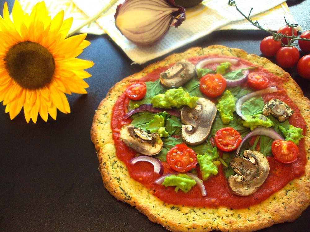 Courgette Pizza