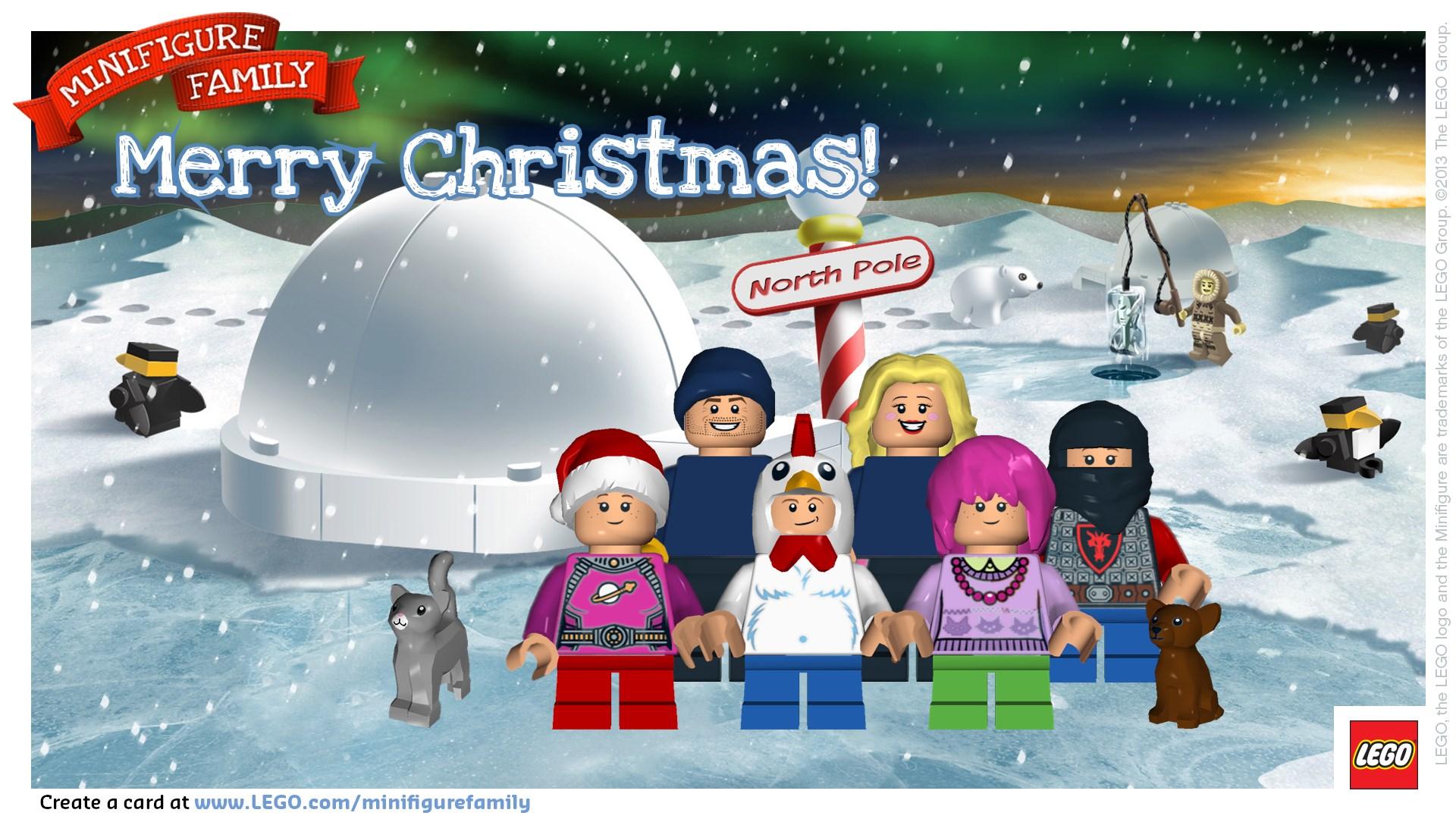 LEGO Minifigure Christmas Card from Dan330 – Dan330