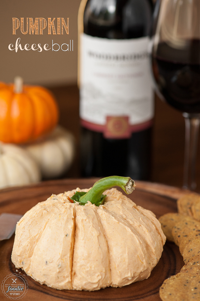 pumpkin cheese ball