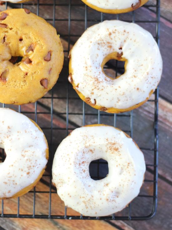 ... cream cheese icing baked pumpkin donuts with cream cheese maple icing