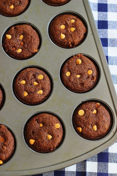 pumpkin honey muffins with butterscotch 6