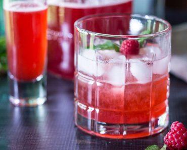 shrub cocktail sq ~ raspberry shrub reicpe ~ gardenmatter.com
