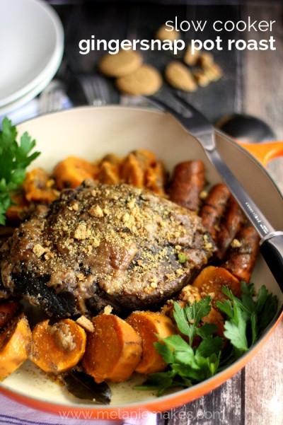 slow cooker gingersnap pot roast mm