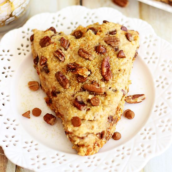 sweet potato pecan pie cinnamon chip scones 12