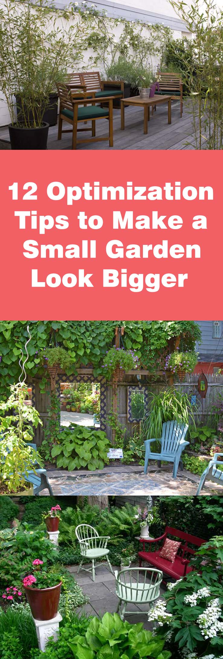 How to Make a Small Garden Look Bigger