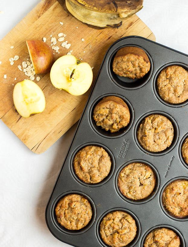 Irresistible Vegan Banana Muffins