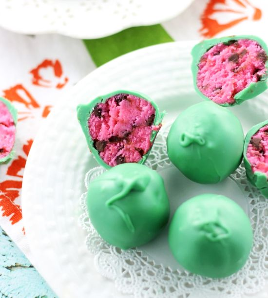watermelon cake balls 1