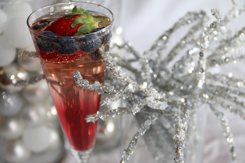 new years eve mixed drink