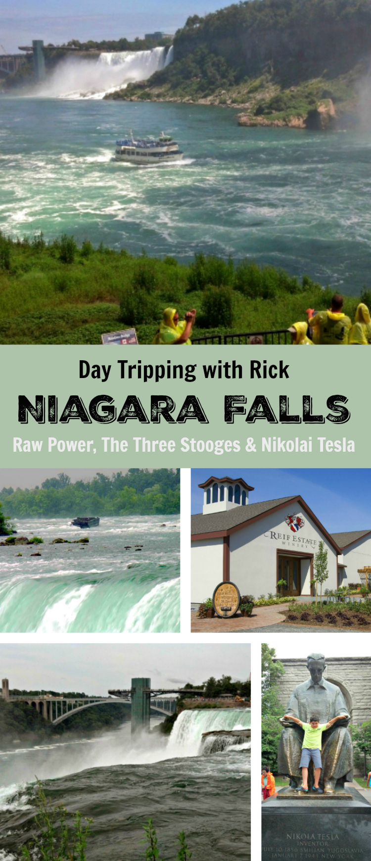 A day trip through Niagara Falls by bike.