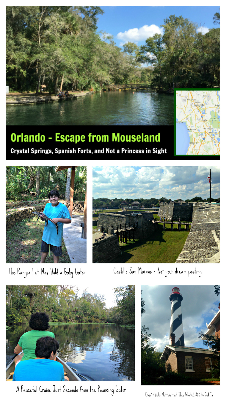 Enjoy a day trip out of Orlando and escape the theme parks.
