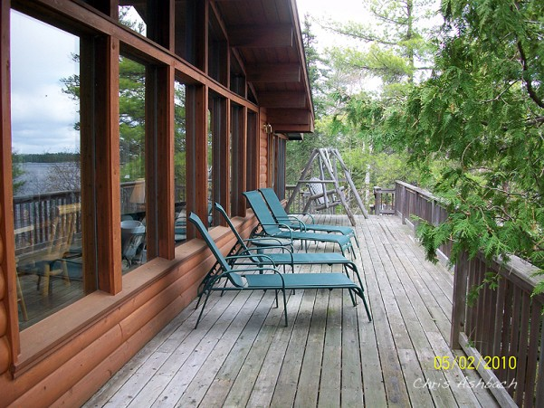 cabin at elbow lake